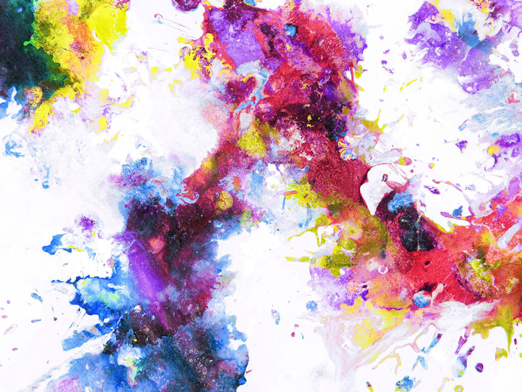 cascade sci arts paint splat